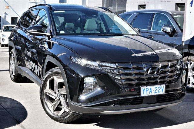 Demo Hyundai Tucson NX4.V1 MY22 Highlander 2WD Phillip, 2021 Hyundai Tucson NX4.V1 MY22 Highlander 2WD Phantom Black 6 Speed Automatic Wagon