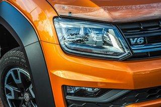 2020 Volkswagen Amarok 2H MY20 TDI550 4MOTION Perm Canyon Orange 8 Speed Automatic Utility.