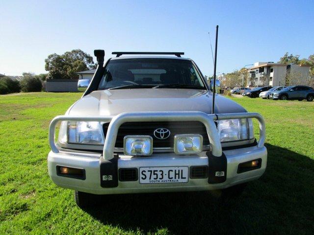 Used Toyota Landcruiser FZJ105R GXL (4x4) Glenelg, 2001 Toyota Landcruiser FZJ105R GXL (4x4) Grey 4 Speed Automatic 4x4 Wagon