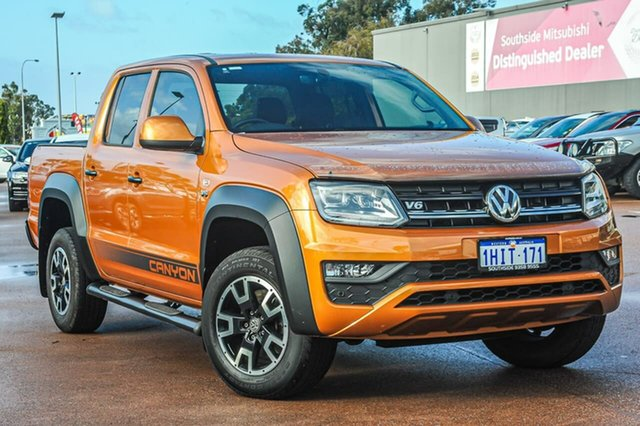 Used Volkswagen Amarok 2H MY20 TDI550 4MOTION Perm Canyon Cannington, 2020 Volkswagen Amarok 2H MY20 TDI550 4MOTION Perm Canyon Orange 8 Speed Automatic Utility