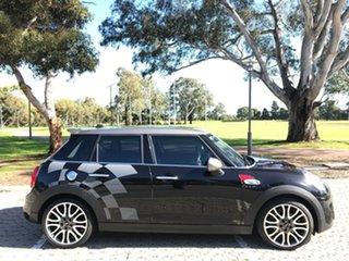 2017 Mini Hatch F55 Cooper S Black 6 Speed Sports Automatic Hatchback.