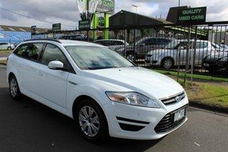 2014 Ford Mondeo MC LX PwrShift TDCi White 6 Speed Sports Automatic Dual Clutch Wagon.