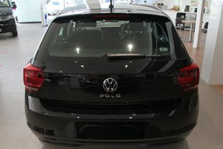 2021 Volkswagen Polo AW MY21 85TSI DSG Comfortline Black 7 Speed Sports Automatic Dual Clutch