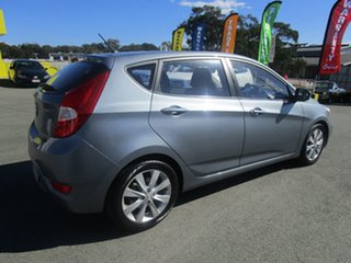 2017 Hyundai Accent RB6 MY18 Sport Grey 6 Speed Sports Automatic Hatchback