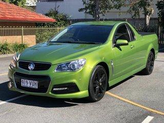2015 Holden Ute VF MY15 SV6 Ute Green 6 Speed Manual Utility