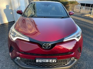 2017 Toyota C-HR NGX50R Koba S-CVT AWD Red 7 Speed Constant Variable Wagon