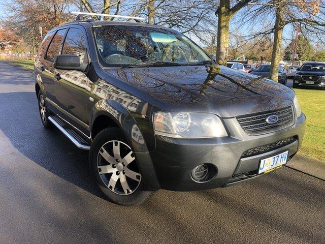 Used Ford Territory SY SR RWD Launceston, 2008 Ford Territory SY SR RWD Grey 4 Speed Sports Automatic Wagon