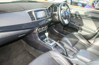 2013 Mitsubishi Lancer CJ MY13 Ralliart TC-SST White 6 Speed Sports Automatic Dual Clutch Sedan