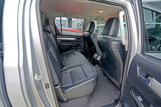2018 Toyota Hilux GUN126R SR5 Double Cab Silver Sky 6 Speed Sports Automatic Utility