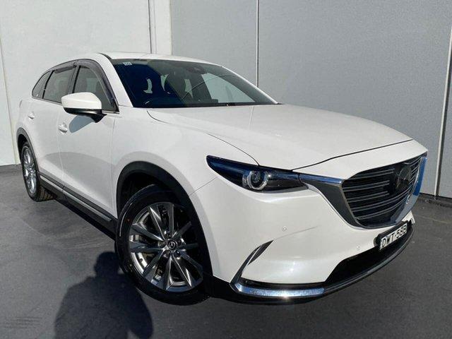 Used Mazda CX-9 TC Azami SKYACTIV-Drive i-ACTIV AWD Liverpool, 2018 Mazda CX-9 TC Azami SKYACTIV-Drive i-ACTIV AWD White 6 Speed Sports Automatic Wagon