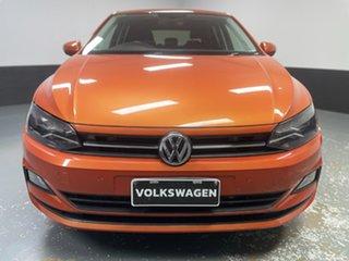 2017 Volkswagen Polo AW MY18 85TSI DSG Comfortline Energetic Orange 7 Speed.