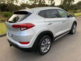2017 Hyundai Tucson TLE Elite Silver Sports Automatic Wagon.