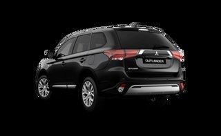 2021 Mitsubishi Outlander ZL MY21 ES 2WD Black 6 Speed Constant Variable Wagon.