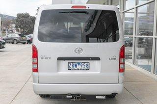 2013 Toyota HiAce KDH201R MY12 LWB Silver 4 Speed Automatic Van