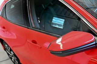 2017 Honda Civic 10th Gen MY17 VTi-S Red 1 Speed Constant Variable Hatchback.