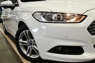 2016 Ford Mondeo MD Ambiente TDCi Island White 6 Speed Automatic Wagon.