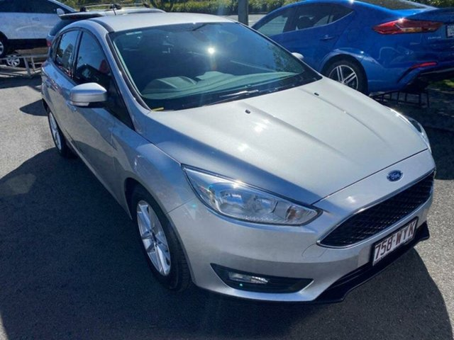 Used Ford Focus LZ Trend Springwood, 2016 Ford Focus LZ Trend Ingot Silver 6 Speed Automatic Hatchback