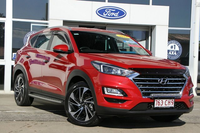Used Hyundai Tucson TLE3 MY19 Special Edition AWD Beaudesert, 2018 Hyundai Tucson TLE3 MY19 Special Edition AWD Fiery Red 8 Speed Sports Automatic Wagon