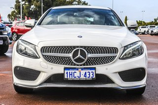 2016 Mercedes-Benz C-Class C205 C200 7G-Tronic + White 7 Speed Sports Automatic Coupe
