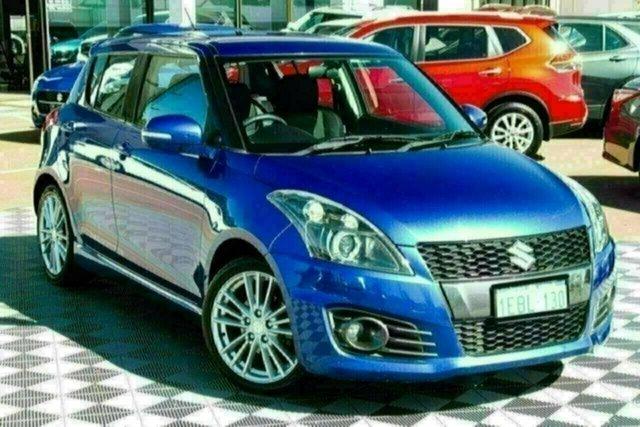 Used Suzuki Swift FZ Sport Attadale, 2012 Suzuki Swift FZ Sport Blue 7 Speed Constant Variable Hatchback