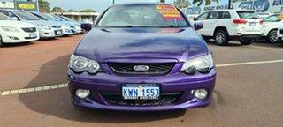 2003 Ford Falcon BA XR6 Purple 5 Speed Manual Sedan.