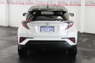 2019 Toyota C-HR NGX10R Koba S-CVT 2WD Crystal Pearl & Black Roof 7 Speed Constant Variable Wagon