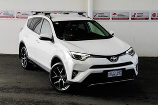 2017 Toyota RAV4 ZSA42R MY17 GXL (2WD) Glacier White Continuous Variable Wagon.