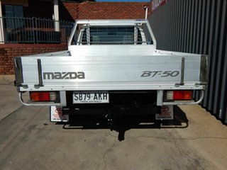 2010 Mazda BT-50 UNY0W4 DX 4x2 White 5 Speed Manual Cab Chassis