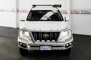 2013 Toyota Landcruiser Prado KDJ150R MY14 GXL (4x4) Glacier White 5 Speed Sequential Auto Wagon.