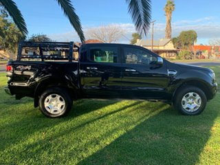 2017 Ford Ranger PX MkII XLT Double Cab Black/Grey 6 Speed Manual Utility.