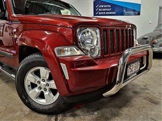 2010 Jeep Cherokee KK MY10 Sport Metallic Red 4 Speed Automatic Wagon.