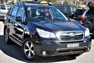 2014 Subaru Forester S4 MY14 2.5i Lineartronic AWD Luxury Grey 6 Speed Constant Variable Wagon.