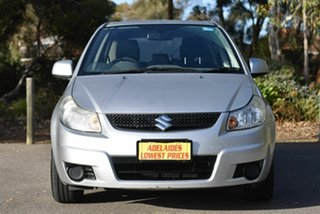 2010 Suzuki SX4 GYA MY10 Silver 6 Speed Constant Variable Hatchback.