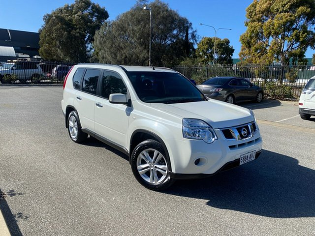 Used Nissan X-Trail T31 Series V ST 2WD Mile End, 2012 Nissan X-Trail T31 Series V ST 2WD White 6 Speed Manual Wagon