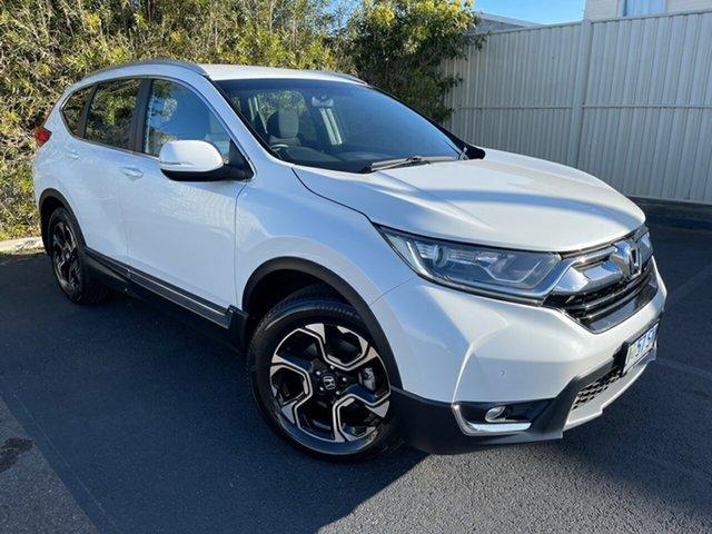 Used Honda CR-V RW MY18 VTi-S 4WD Devonport, 2018 Honda CR-V RW MY18 VTi-S 4WD White 1 Speed Constant Variable Wagon
