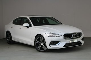 2019 Volvo S60 Z Series MY20 T5 Geartronic AWD Inscription Crystal White Pearl 8 Speed.