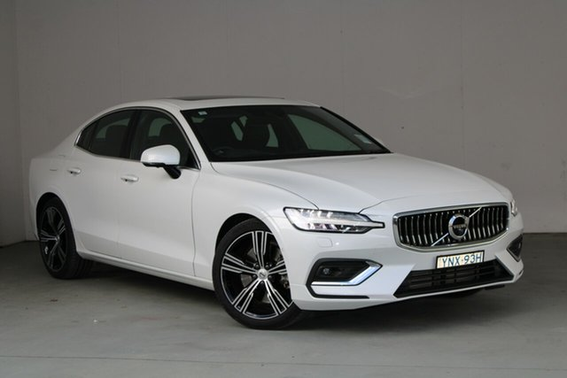 Used Volvo S60 Z Series MY20 T5 Geartronic AWD Inscription Phillip, 2019 Volvo S60 Z Series MY20 T5 Geartronic AWD Inscription Crystal White Pearl 8 Speed