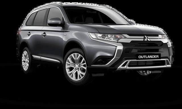 New Mitsubishi Outlander ZL MY21 ES 2WD Hamilton, 2021 Mitsubishi Outlander ZL MY21 ES 2WD Sterling Silver 6 Speed Constant Variable Wagon
