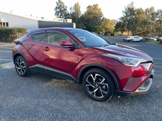 2017 Toyota C-HR NGX50R Koba S-CVT AWD Red 7 Speed Constant Variable Wagon.