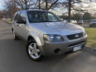 2009 Ford Territory SY TX Silver 4 Speed Sports Automatic Wagon.