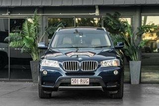 2011 BMW X3 F25 MY1011 xDrive30d Steptronic Blue 8 Speed Automatic Wagon.