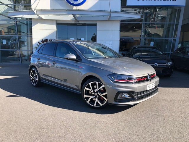 Used Volkswagen Polo AW MY21 GTI DSG Sutherland, 2020 Volkswagen Polo AW MY21 GTI DSG Grey 6 Speed Sports Automatic Dual Clutch Hatchback