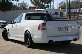 2010 Holden Special Vehicles Maloo E Series 2 GXP White 6 Speed Manual Utility.