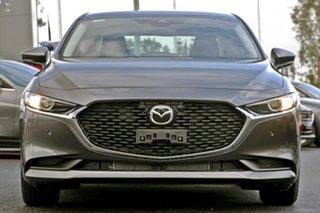 2021 Mazda 3 BP2S7A G20 SKYACTIV-Drive Pure Grey 6 Speed Sports Automatic Sedan.