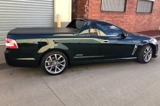 2014 Holden Ute VF MY15 SS V Ute Green 6 Speed Manual Utility.
