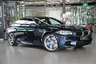 2016 BMW M5 F10 LCI M-DCT Blue 7 Speed Sports Automatic Dual Clutch Sedan.