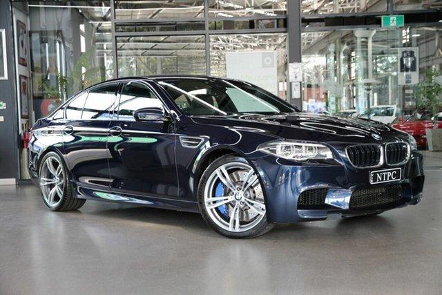Used BMW M5 F10 LCI M-DCT North Melbourne, 2016 BMW M5 F10 LCI M-DCT Blue 7 Speed Sports Automatic Dual Clutch Sedan