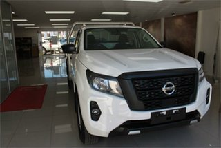 2021 Nissan Navara D23 SL Solid White 6 Speed Manual Cab Chassis.