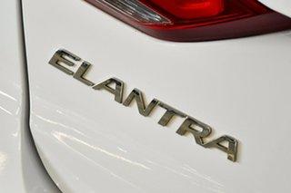 2016 Hyundai Elantra AD Active 2.0 MPI White 6 Speed Automatic Sedan