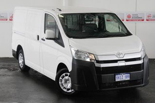 2020 Toyota HiAce GDH300R LWB French Vanilla 6 Speed Sports Automatic Van.